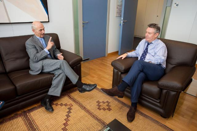 Visit of Pascal Lamy, Director General of the World Trade Organization (WTO), to the EC