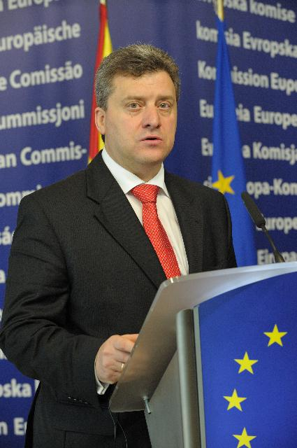 Visit of Gjorge Ivanov, President of the former Yugoslav Republic of Macedonia, to the EC
