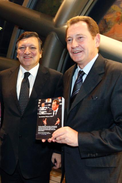 Participation of José Manuel Barroso, President of the EC, at the launch of Sir Graham Watson's book