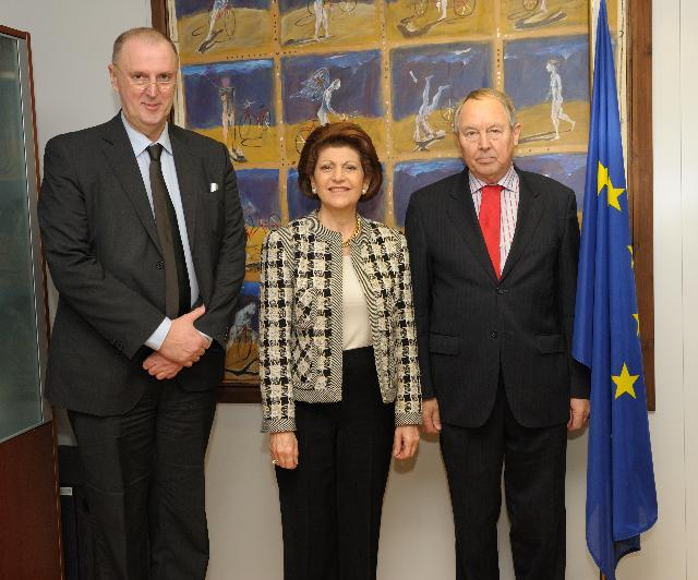 Visit of Jørgen Greve, Chairman of the European Agency for Development in Special Needs Education, and Cor Meijer, Director of the European Agency for Development in Special Needs Education, to the EC