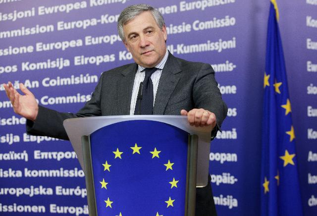 Press conference by Antonio Tajani, Vice-President of the EC, on the closure of the first phase of registration of the chemicals commonly used fixed by the REACH Regulation