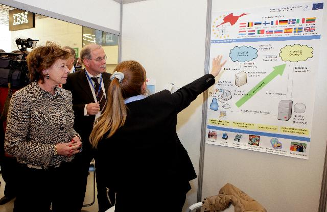 "Participation of Neelie Kroes, Vice-President of the EC, at the conference entitled Lift-off towards ""Open Government"": putting eEurope in practice"