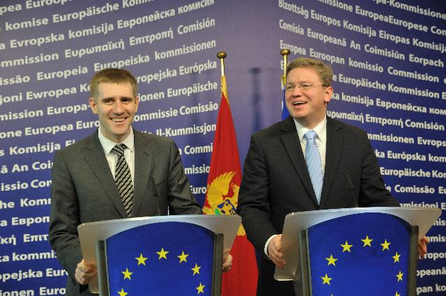 Visit of Igor Lukšić, Montenegrin Prime Minister, to the EC