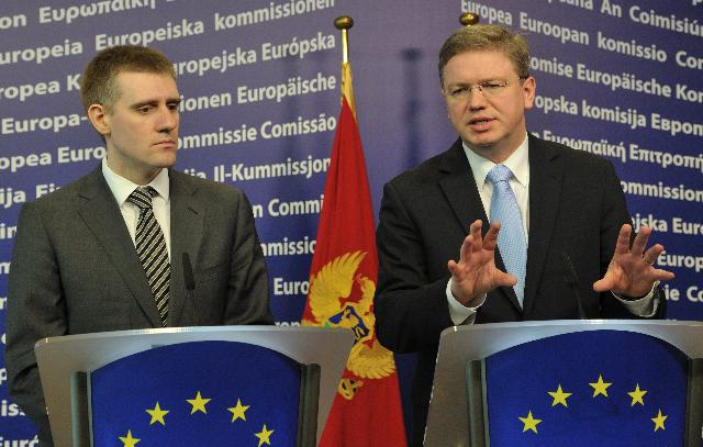 Visit of Igor Lukšić, Montenegrin Prime Minister, to the EC