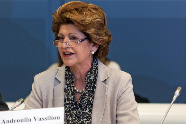 Participation of Androulla Vassiliou, Member of the EC, at the conference on Clear Writing