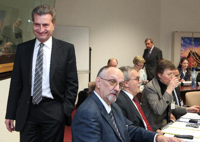 Participation of Günther Oettinger, Member of the EC, at the conference on the methodology of stress tests for EU nuclear power plants