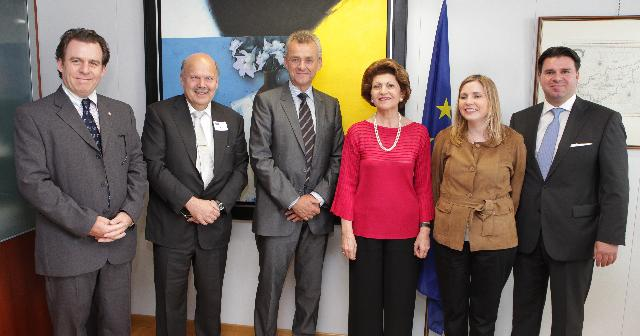 Visit of a delegation from the ENPA to the EC