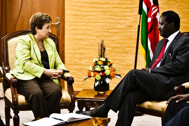 Visit of Kristalina Georgieva, Member of the EC, to Kenya