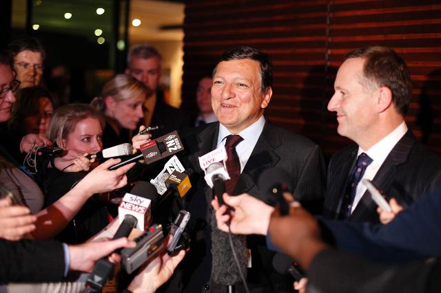 Visit of José Manuel Barroso, President of the EC, to Australia and New Zealand