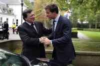 Visit of José Manuel Barroso, President of the EC, to The Hague