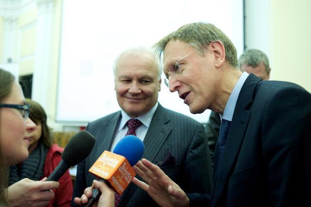 Visit of Janez Potočnik, Member of the EC, to Poland