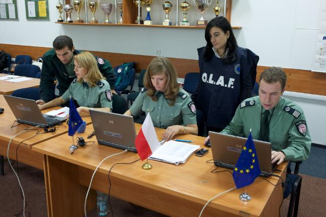 OLAF's Customs Operation at the border between Ukraine and Poland