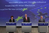 Joint press conference by Neelie Kroes, Michel Barnier and John Dalli on the Commission action plan on e-commerce and other online services