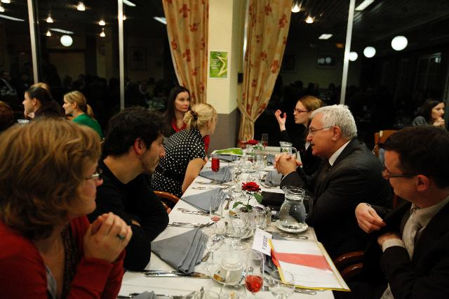 Participation of John Dalli, Member of the EC, at the welcome dinner for the 2011 EU Health Prize for Journalists