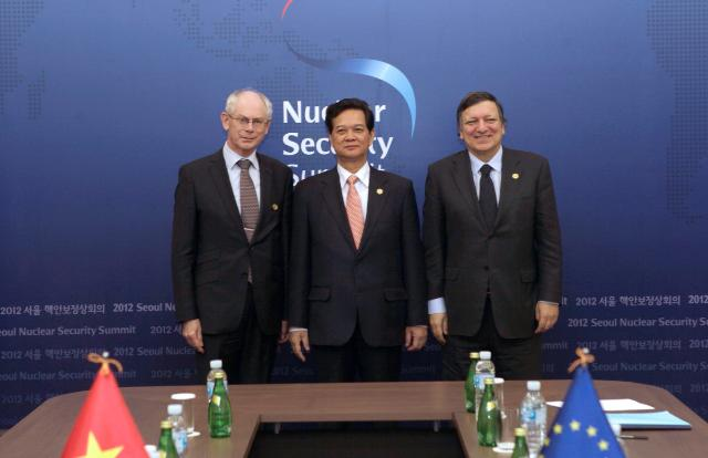 Nuclear Security Summit, 27/03/2012