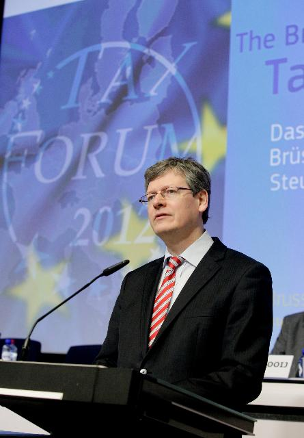 Participation of Algirdas Šemeta and László Andor, Members of the EC, at the 2012 Brussels Tax Forum