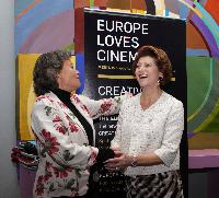 Participation of Androulla Vassiliou, Member of the EC, at the 65th Cannes International Film Festival
