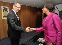 Visite de Navi Pillay, Haut commissaire des Nations unies pour les Droits de l'homme, à la CE
