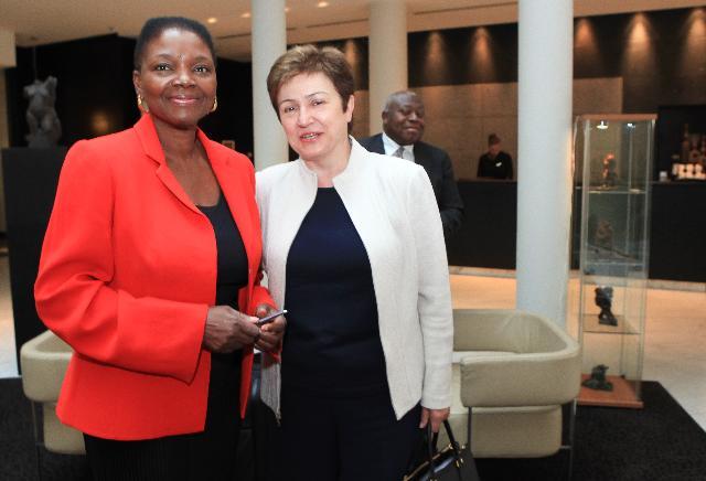 Meeting between Valerie Amos, UN Under-Secretary General for Humanitarian Affairs and Emergency Relief Coordinator, and Kristalina Georgieva, Member of the EC