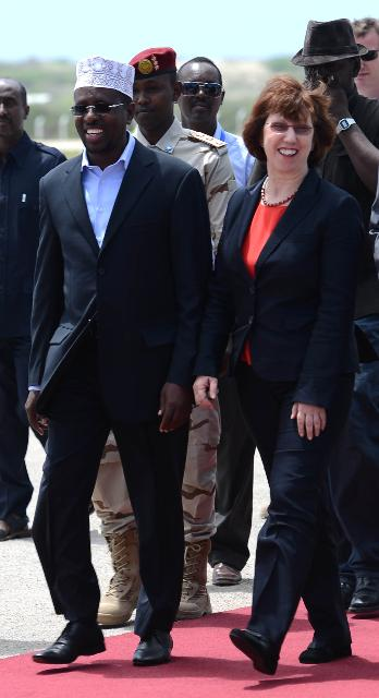 Visit of Catherine Ashton, Vice-President of the EC, to Somalia