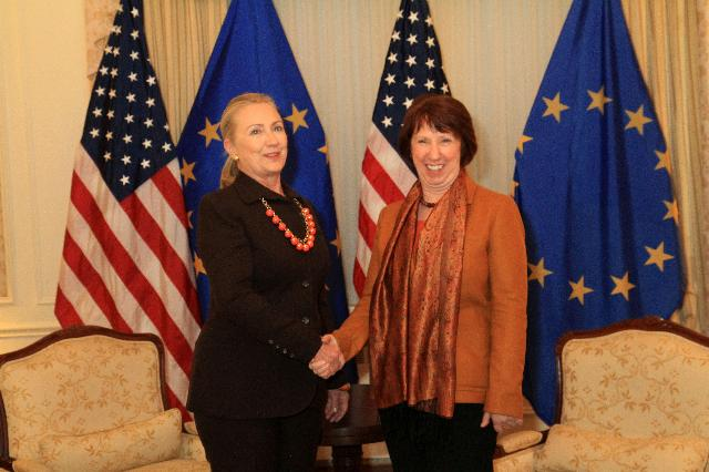 Visit of Catherine Ashton, Vice-President of the EC, to New-York
