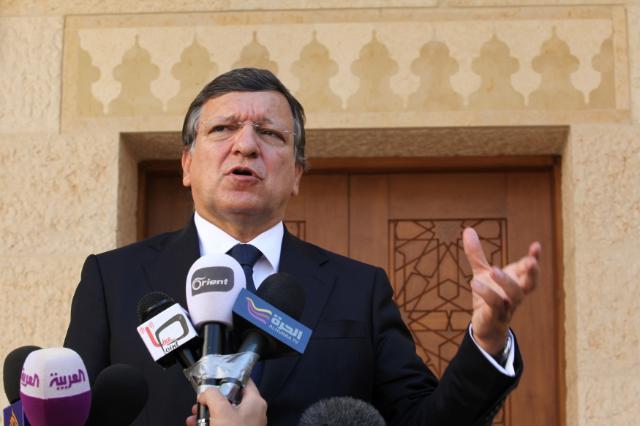 Visit by José Manuel Barroso, President of the EC, to Jordan
