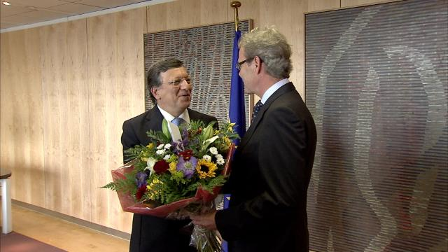 Press conference by José Manuel Barroso, President of the EC, following the award of the 2012 Nobel Peace Prize
