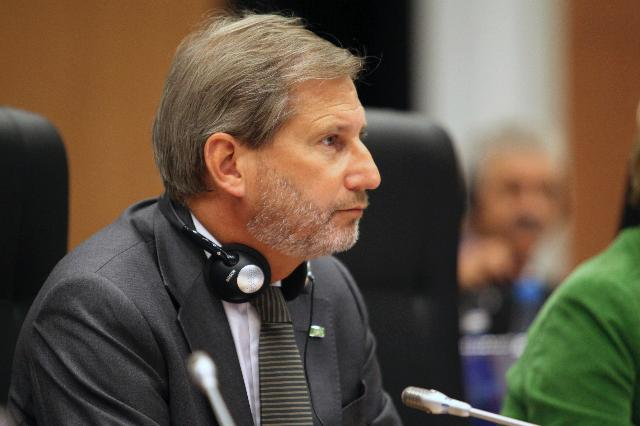 Participation of Johannes Hahn, Member of the EC, at the informal meeting of the European Ministers for Cohesion Policy
