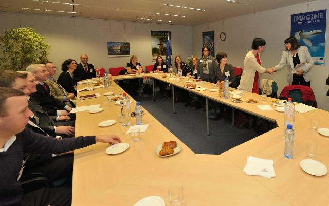 Visit of directors of the IOTI to the EC