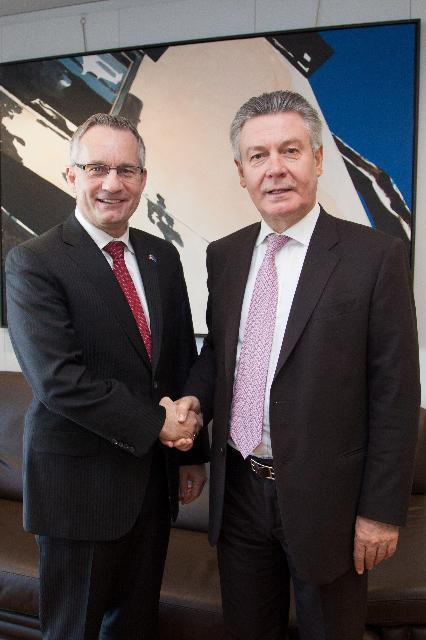 Visit of Ed Fast, Canadian Minister for International Trade and Minister for the Asia-Pacific Gateway, to the EC