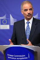 Joint press conference by Eric Holder, US Attorney General, and Cecilia Malmström, Member of the EC, for the launch of the 'Global Alliance against Child Sexual Abuse Online'