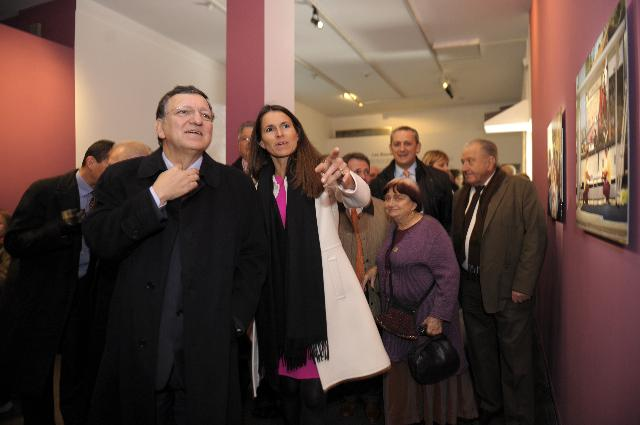 Visit of José Manuel Barroso, President of the EC, to Marseille