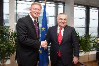Visit of Ilir Meta, Chairman of Albania's Socialist Movement for Integration, to the EC