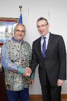 Visit of José Ramos-Horta, Special Representative of Ban Ki-moon, Secretary General of the United Nations, for Guinea-Bissau, to the EC