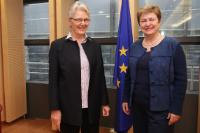 Visit of Margareta Wahlström, UN Assistant Secretary-General for Disaster Risk Reduction, to the EC