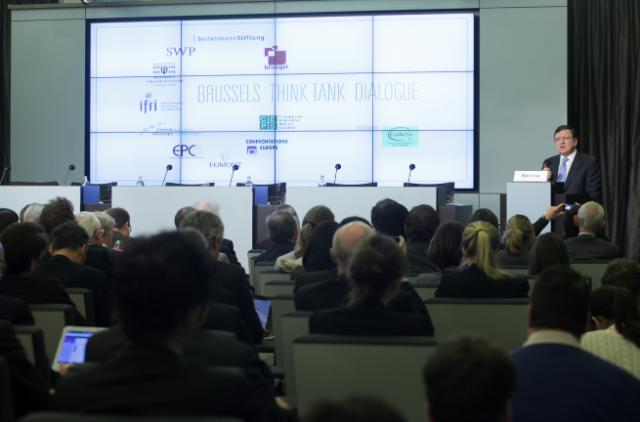 Participation of José Manuel Barroso, President of the EC, in the opening of the Brussels Think Tank Dialogue