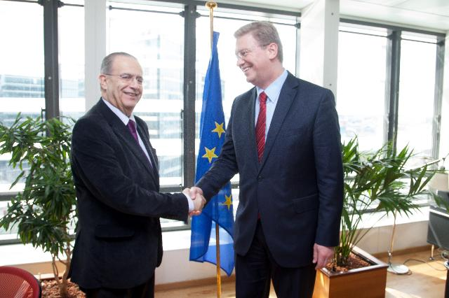 Visit of Ioannis Kasoulides, Cypriot Minister for Foreign Affairs, to the EC