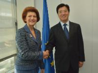 Visite de Du Yubo, vice-ministre chinois de l'Education, à la CE