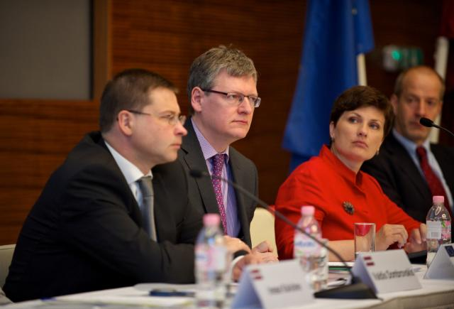 Visit of László Andor, Member of the EC, to Latvia