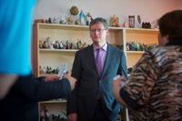 Visit of László Andor, Member of the EC, to Latvia
