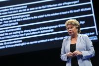 Citizens' Dialogue in Esch-sur-Alzette with Viviane Reding