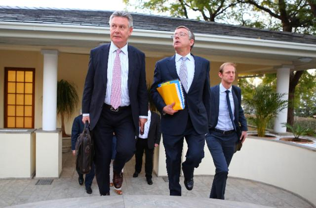 Visit of Karel De Gucht, Member of the EC, to Namibia