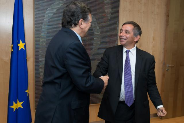 Visit of Henri Malosse, President of the European Economic and Social Committee, to the EC
