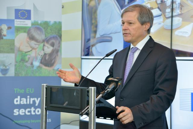 Participation of Dacian Cioloş, Member of the EC, at the conference on 'The EU dairy sector: developing beyond 2015'