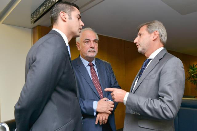 Visit of Louis Grech, Maltese Deputy Prime Minister and Minister for European Affairs, to the EC