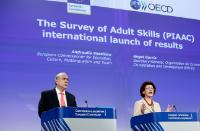 Joint press conference by Androulla Vassiliou, Member of the EC, and Angel Gurría, Secretary General of the OECD, on the results of the first comprehensive international Survey of Adult Skills