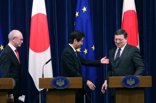 Sommet UE/Japon, 19-20/11/2013