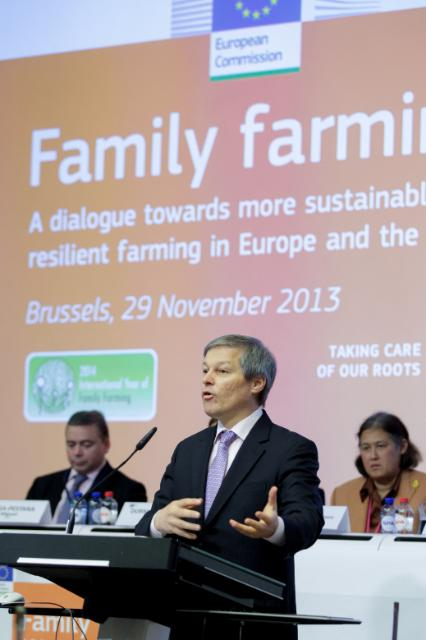 Conference 'Family farming: A dialogue towards more sustainable and resilient farming in Europe and the world' with the participation of José Graziano da Silva, Director-General of the FAO, and Maha Chakri Sirindhorn, Princess, daughter of Rama IX, King of Thailand