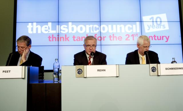 Participation of Olli Rehn, Vice-President of the EC, in the 2013 Euro Summit