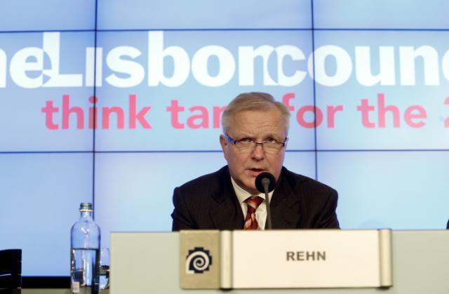 Participation d'Olli Rehn, vice-président de la CE, au sommet 2013 sur l'euro